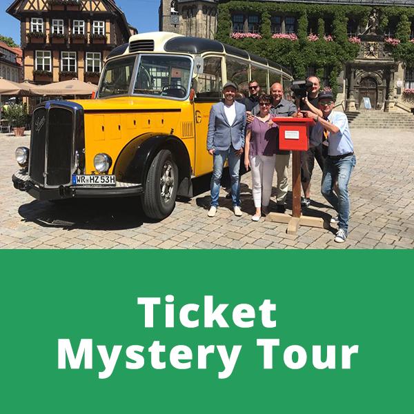 "Harz Krimi & Mystery Tour ""Das versunkene Heiligtum"" 01.08.2021"